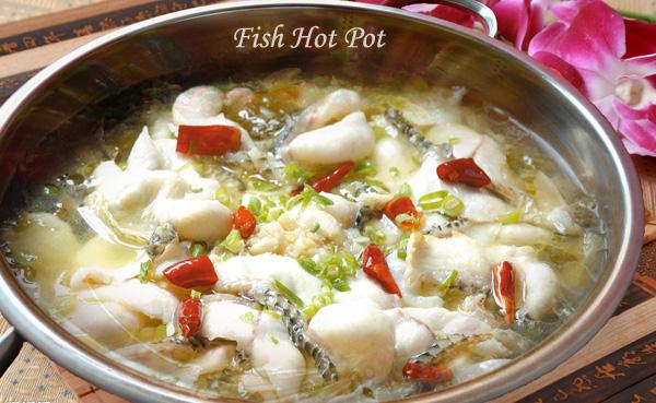 Fish hotpot