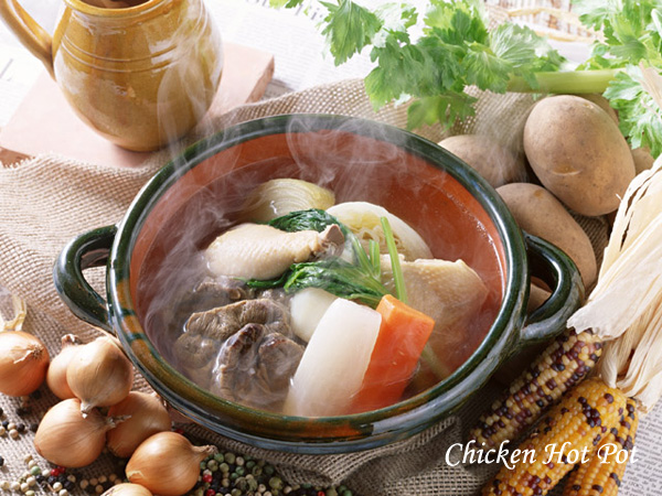 chicken mixed hot pot