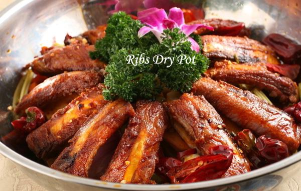 ribs dry pot