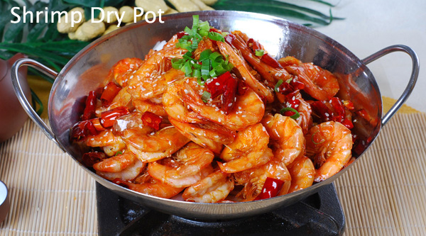 shrimp dry pot