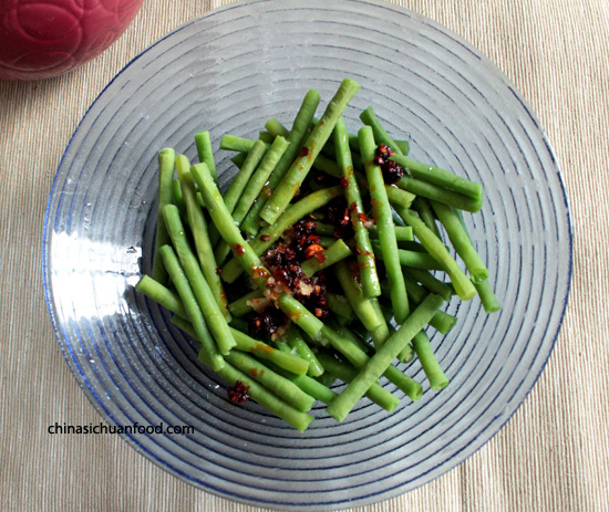 Spicy Chinese Long Green Beans – China Sichuan Food