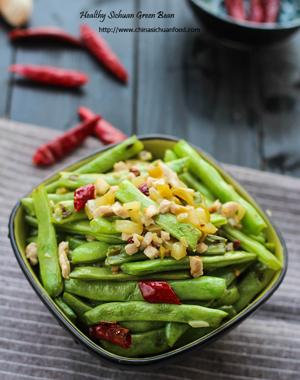 Szechuan Dry-fried Green Beans-Ganbian Sijidou – China Sichuan Food