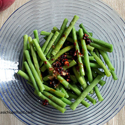 Spicy Chinese Long Green Beans