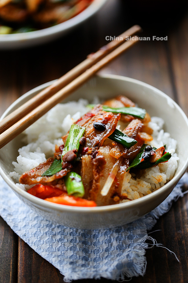 twice cooked pork belly-HuiGuoRou