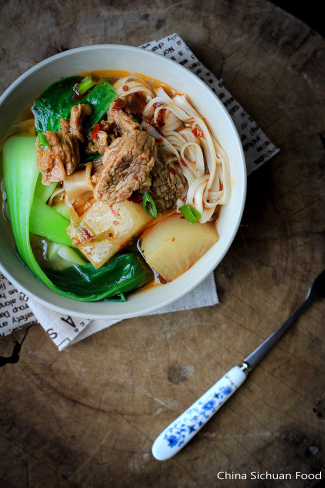 Red Braised Beef Noodle Soup |ChinaSichuanFood