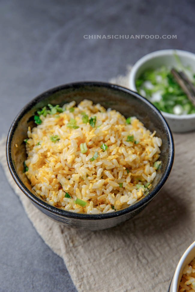 egg fried rice|chinasichuanfood.com