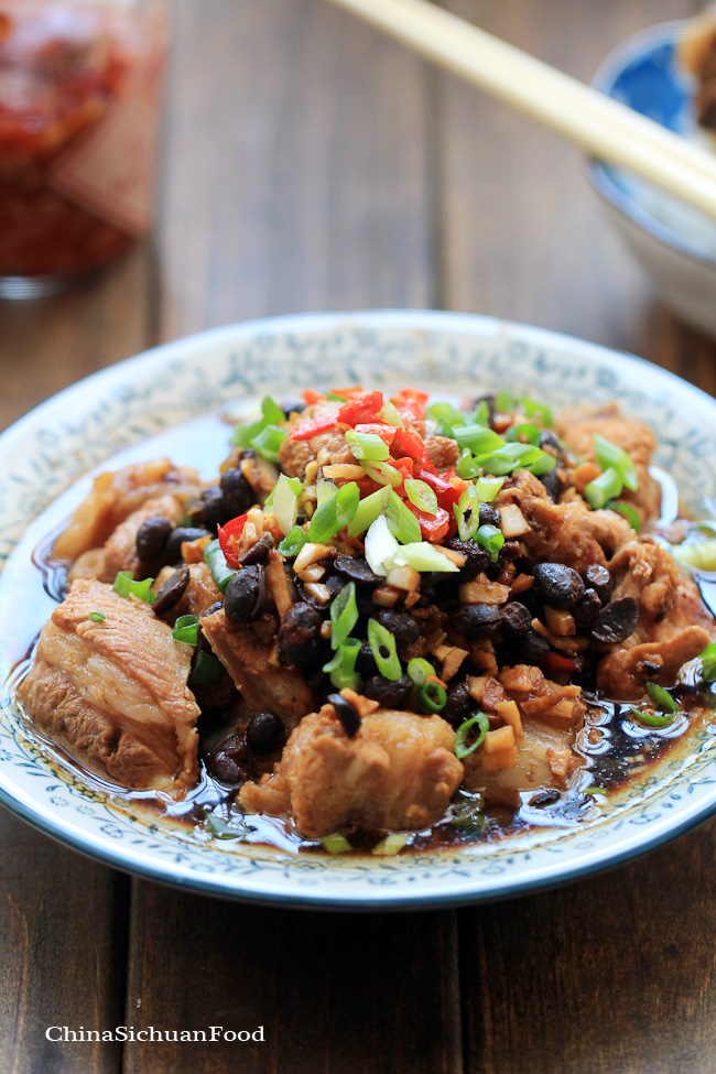 Steamed Pork Ribs With Fermented Black Beans Recipes — Dishmaps