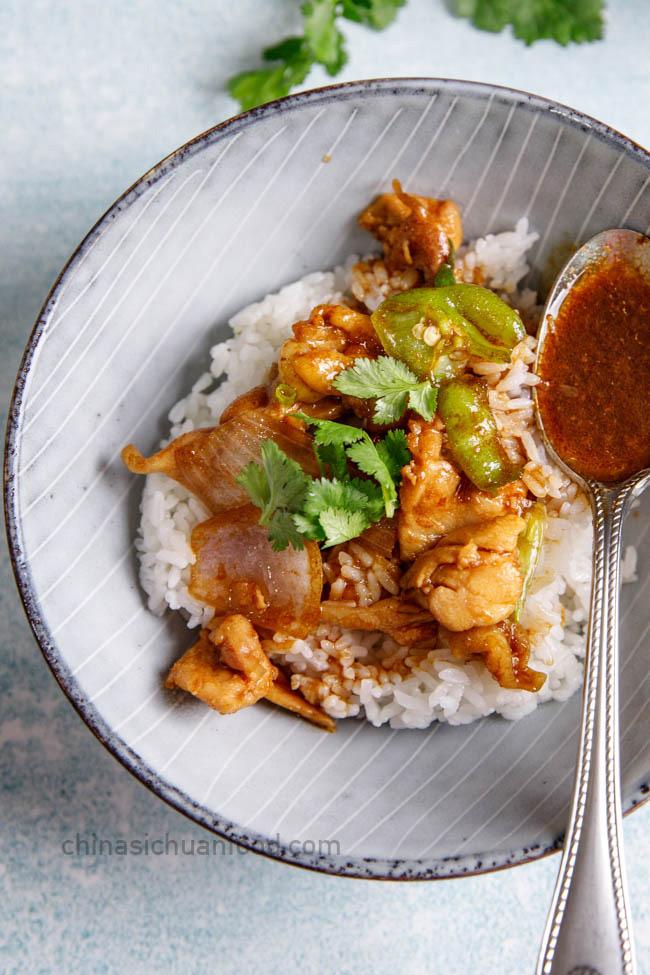 sha cha chicken|chinasichuanfood.com