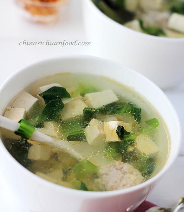 Tofu Tomato Soup Recipe — Dishmaps