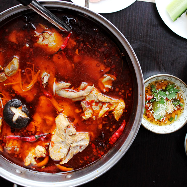 Spicy chicken hot pot|ChinaSichuanFood