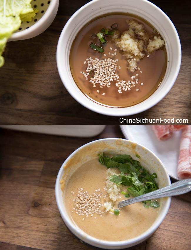 hot pot dipping sauce