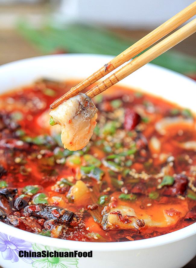 Sichuan Boiled Fish 水煮鱼