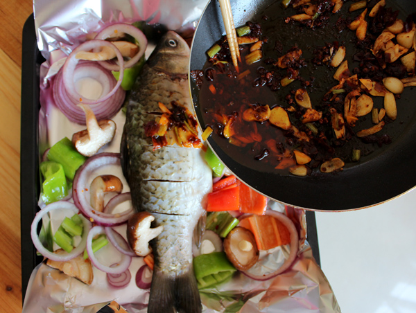 Spicy Grilled Fish  ChinaSichuanFood