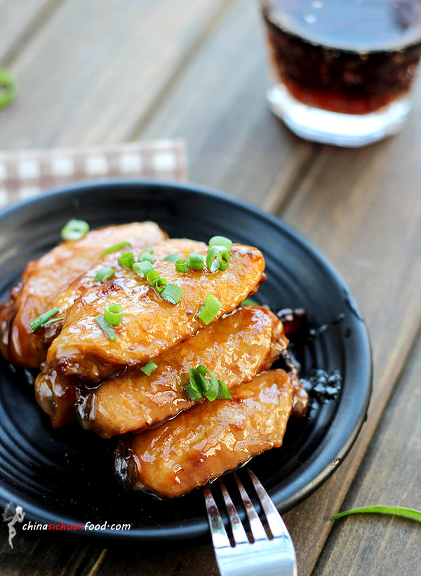 Red-cooking Chicken Wings ChinaSichuanFood
