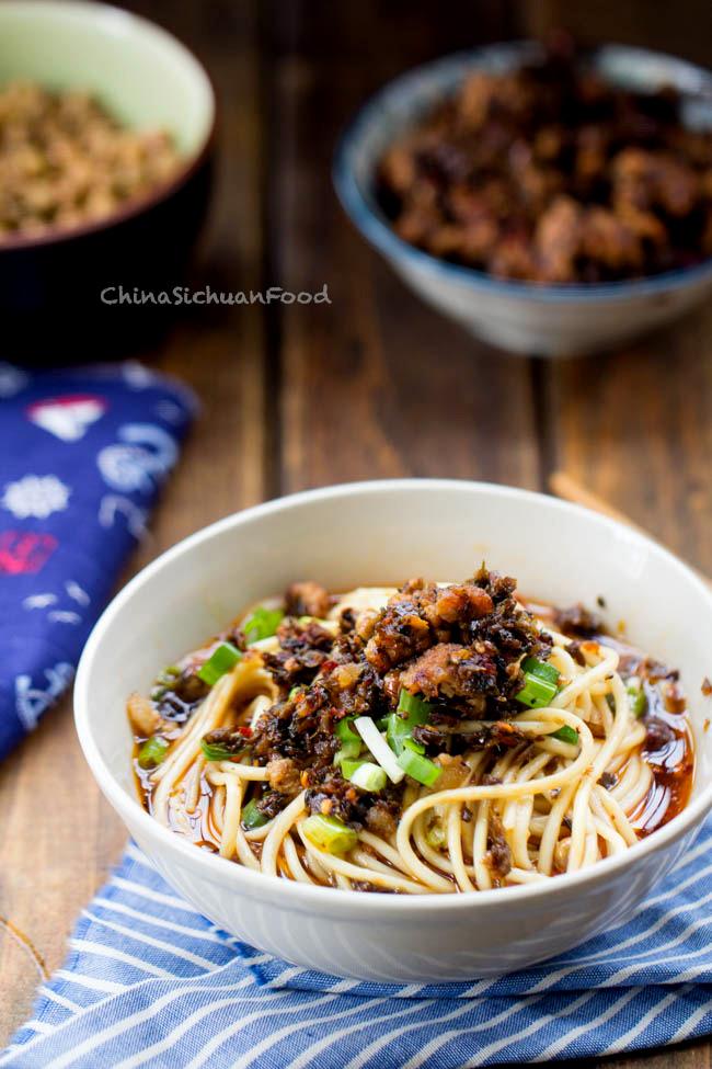 Sichuan Dan Dan Noodles by China Sichuan Food