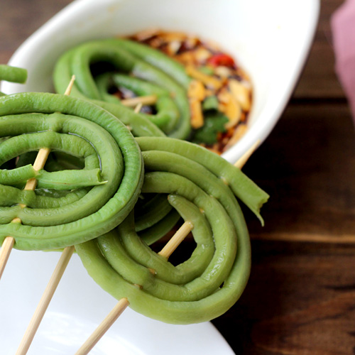 Chinese Long Bean Circles|ChinaSichuanFood