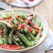 Sichuan green beans