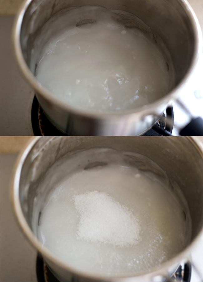 homemade kimchi- rice glue