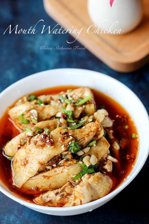 mouth watering chicken-Saliva Chicken