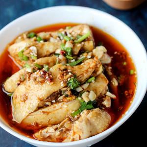 Saliva Chicken-Mouthwatering Chicken