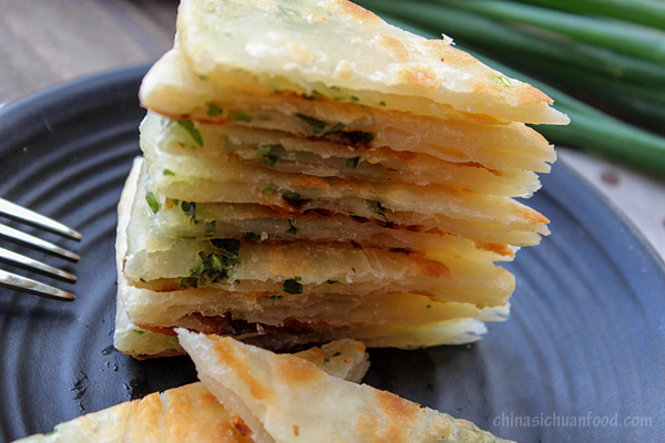 Chinese Scallion Pancakes (Congyoubing) – China Sichuan Food
