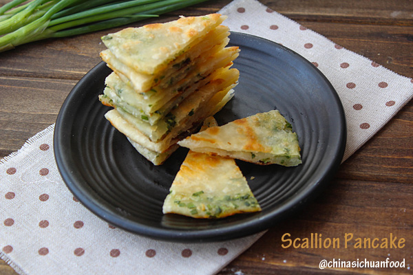 Chinese scallion pancakes|ChinaSichuanFood