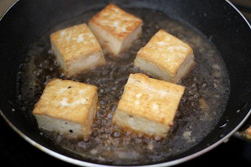 Braised Chinese Stuffed Tofu – China Sichuan Food