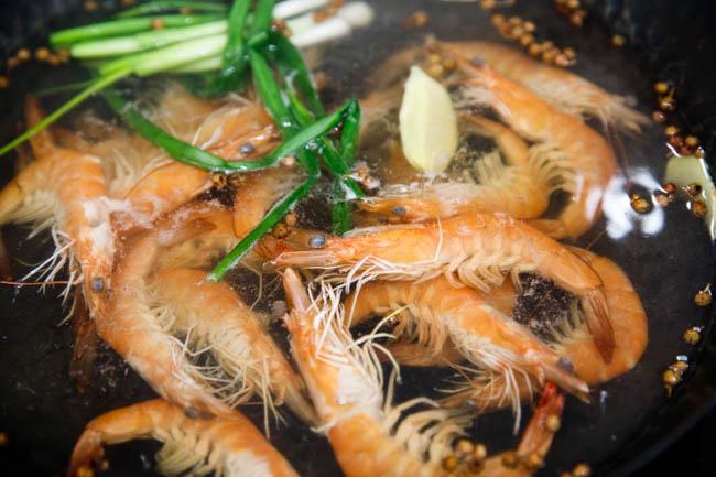 Chinese boiled shrimp|chinasichuanfood.com
