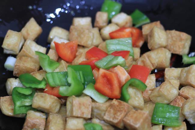 Kung Pao Tofu |chinasichuanfood.com