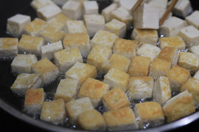 Kung Pao Tofu  chinasichuanfood.com