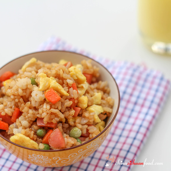 Soy Sauce Fried Rice|ChinaSichuanFood