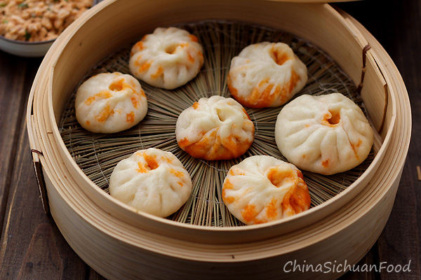 Vegan Baozi(Chinese steamed buns)|ChinaSichuanFood
