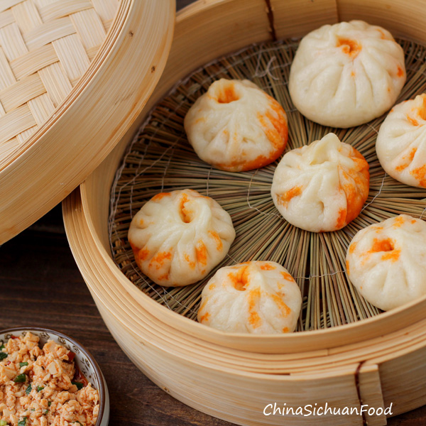 Vegan Baozi (Chinese Steamed Buns) 包子