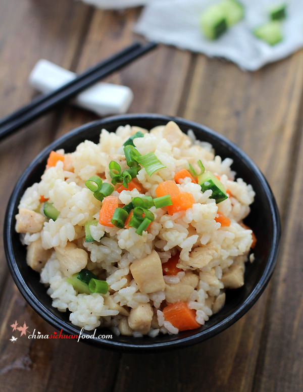 Chicken Fried Rice|ChinaSichuanFood