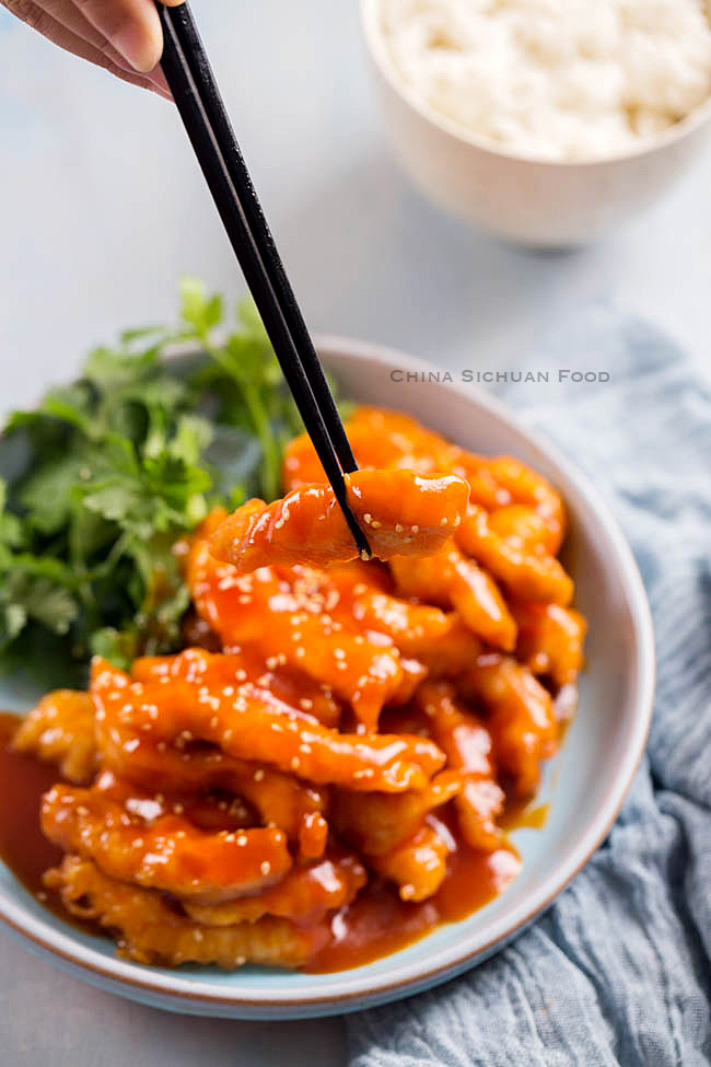 sweet and sour pork| chinasichuanfood.com
