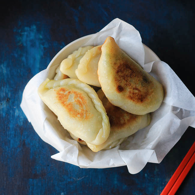 Chinese chive pocket