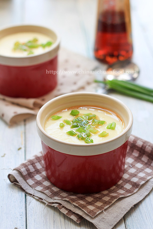 Chinese steamed egg