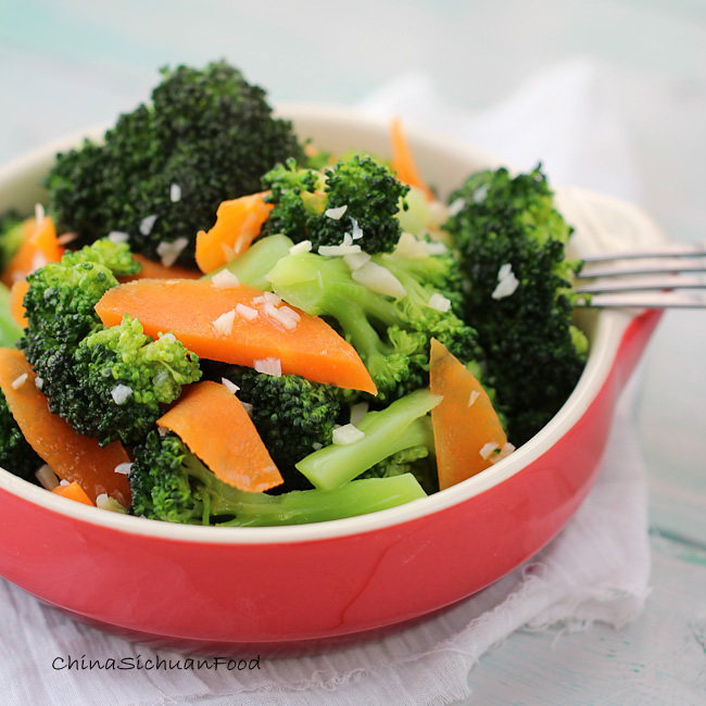 Recipes With Chicken Rice Broccoli: Broccoli Stir Fry With Garlic