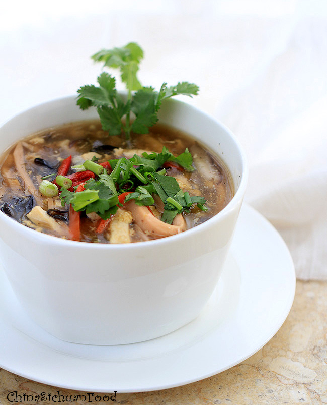 ... hot and sour soup chinese spicy hot and sour soup cantonese style hot