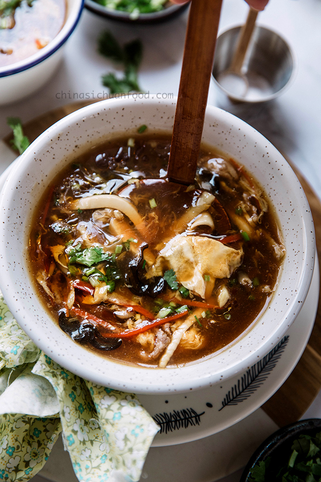 hot and sour soup|chinasichuanfood.com