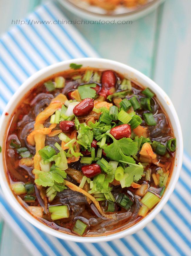 Hot and Sour Sweet Potato Noodles-Suan La Fen – China Sichuan Food