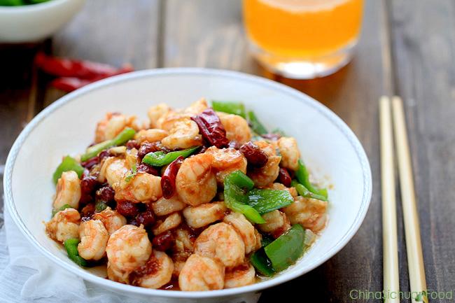 Kung Pao Shrimp (Kung Pao Prawn) – China Sichuan Food