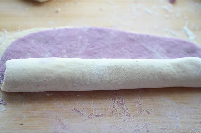 Purple Sweet potato buns ChinaSichuanFood
