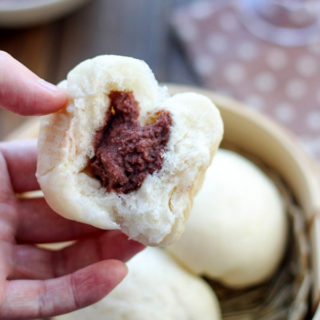 Homemade Red Bean Buns (Dou Sha Bao)