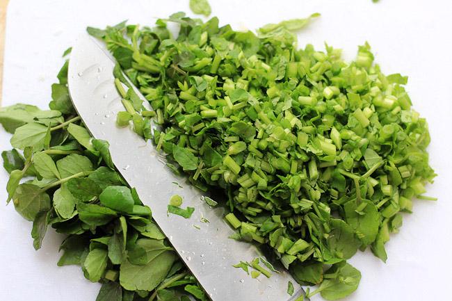 Watercress Stir-fry Recipe ChinaSichuanFood