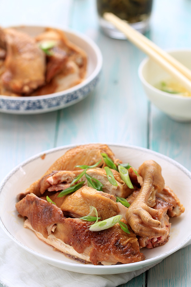 Easy soy sauce chicken