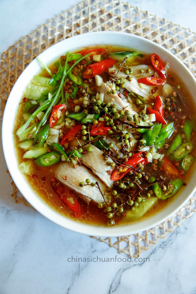 Sichuan peppercorn chicken|chinasichuanfood.com