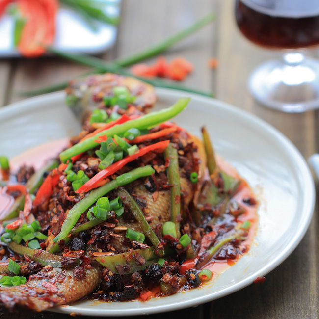 Spicy Braised Fish-Sichuan style