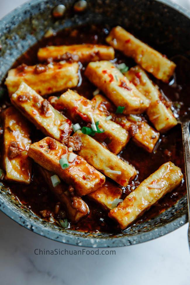Yu xiang tofu|chinasichuanfood.com