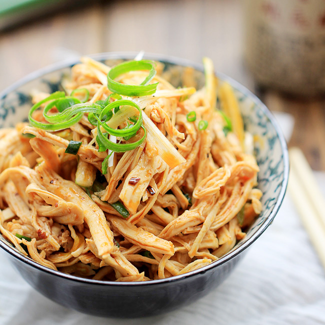Chinese Recipe-Bon Bon Chicken is also known as Bang Bang Chicken
